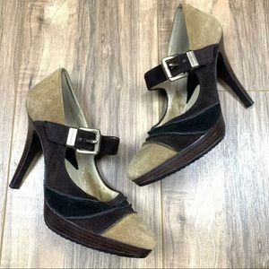 Michael Kors suede leather heels, 6